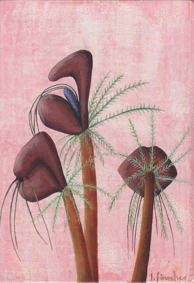 Flor Pelos en la lengua